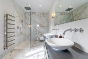 Lazard Plumbing Bathroom Refurbishments Clean White